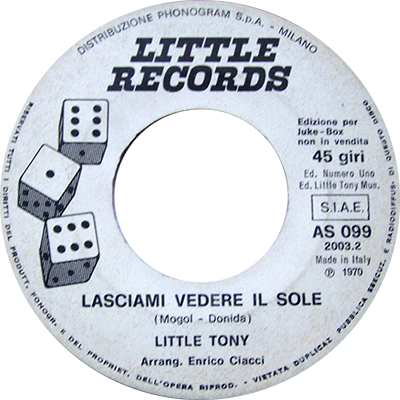 1970 – Little Records AS 099