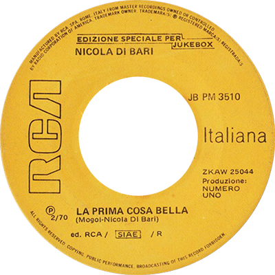 1970 – RCA JBPM 3510