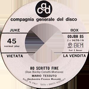 1967 – CGD ODJBH 85