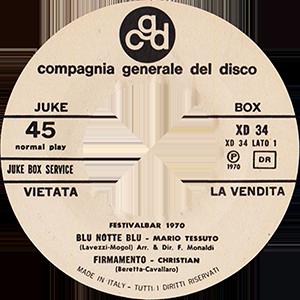 1970 – CGD XD 34