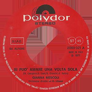 1971 – Polydor 2060 021
