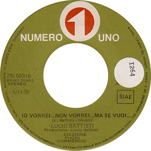 1973 – Numero Uno ZN 50310