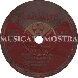 1953 – Durium A 10121 (SSSS-NN)