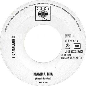 1969 – CBS / CGD DPD 1