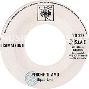 1973 – CBS / CGD YD 337