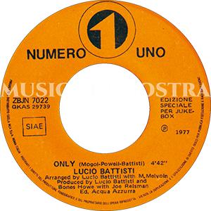 1977 – Numero Uno ZBJN 7022