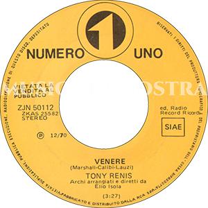 1970 – Numero Uno ZJN 50112
