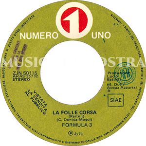 1971 – Numero Uno ZJN 50115