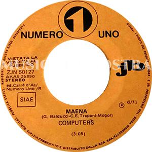 1971 – Numero Uno ZJN 50127