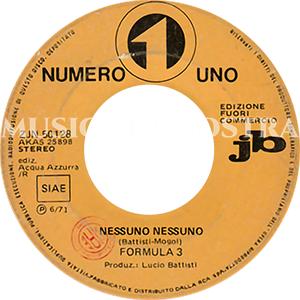 1971 – Numero Uno ZJN 50128
