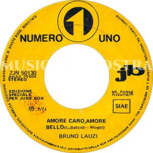 1971 – Numero Uno ZJN 50130