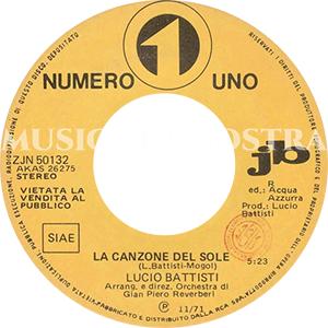 1971 – Numero Uno ZJN 50132