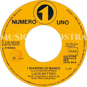 1972 – Numero Uno ZJN 50146