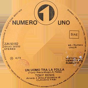 1972 – Numero Uno ZJN 50182