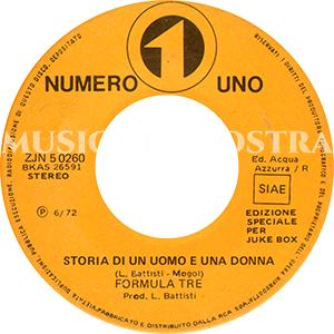 1972 – Numero Uno ZJN 50260