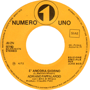 1972 – Numero Uno JB/ZN 50150