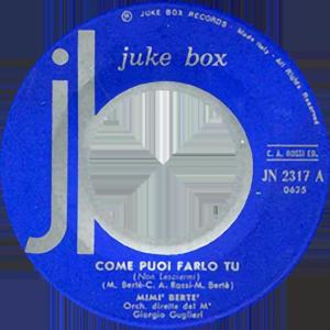1965 – Juke Box JN 2317 (SSSS-NN)