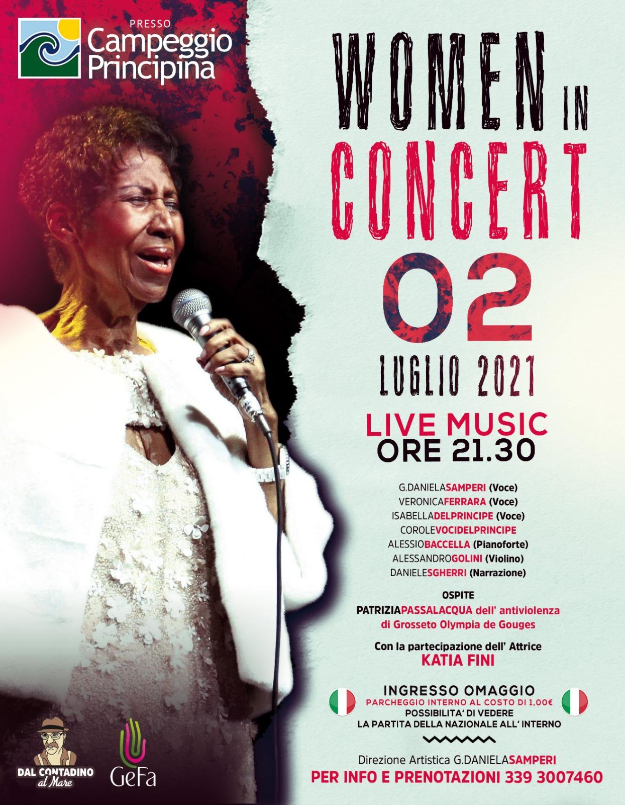 Woman in Concert